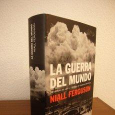 Libros de segunda mano: NIALL FERGUSON: LA GUERRA DEL MUNDO (DEBATE, 2007) TAPA DURA. COMO NUEVO.. Lote 194956786
