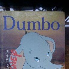 Libros de segunda mano: DUMBO. LOS CLASICOS DISNEY. EDICIONES GAVIOTA. 1998. MADRID. 112 PAGINAS. 23,3 X 17,7 CM. Lote 194957846