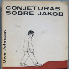 Libros de segunda mano: 1973.- CONJETURAS SOBRE JACOK. JOHNSONS. Lote 194966621