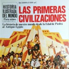 Libros de segunda mano: LAS PRIMERAS CIVILIZACIONES / ANNE MILLARD. PLESA ; S.M., 1978. (HISTORIA ILUSTRADA DEL MUNDO ; 1). Lote 194969713