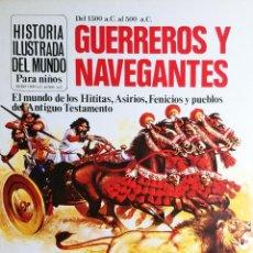 Libros de segunda mano: GUERREROS Y NAVEGANTES / ANNE MILLARD. PLESA ; S.M., 1981. (HISTORIA ILUSTRADA DEL MUNDO ; 2). Lote 194969928