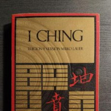 Libros de segunda mano: I CHING. EDICION Y VERSION MIRKO LAUER. BARRAL EDITORES 1971 . Lote 194973822