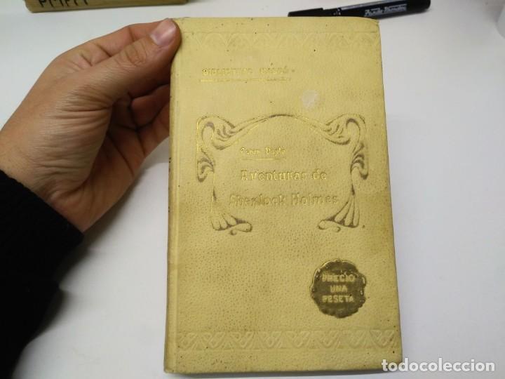 LIBRO AVENTURAS DE SHERLOK HOLMES BIBLIOTECA CASSO CONAN DOYLE (Libros de Segunda Mano - Bellas artes, ocio y coleccionismo - Otros)