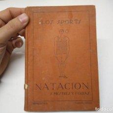 Libros de segunda mano: LIBRO LOS SPORTS NATACION SANTIAGO MESTRES Y FOSSAS . Lote 194975168