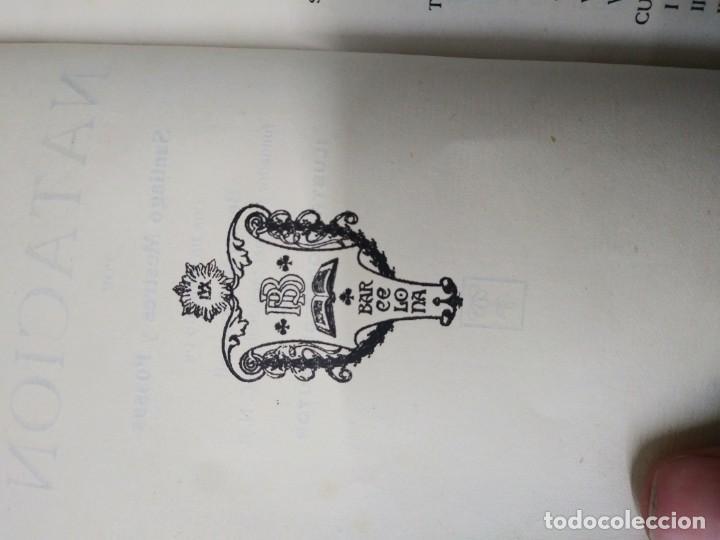 Libros de segunda mano: Libro LOS SPORTS NATACION Santiago Mestres y Fossas - Foto 4 - 194975168