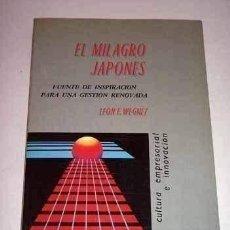 Libros de segunda mano: EL MILAGRO JAPONES. Lote 194988991
