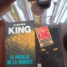 Libros de segunda mano: LOTE 2 TÍTULOS STEPHEN KING. Lote 194993660