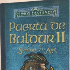 Libros de segunda mano: PUERTA DE BALDUR II - SOMBRAS DE AMN - PHILIP ATHANS. Lote 195007422
