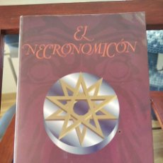 Libros de segunda mano: EL NECROMICON--H.P. LOVECRAFT--EDITORIAL EDAF-1992-BUEN ESTADO-PLASTIFICADO. Lote 195008498
