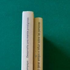 Libros de segunda mano: LOTE AUTOAYUDA. COMO GENAR AMIGOS E INFLUIR SOBRE LAS PERSONAS. DESARROLLA UNA MENTE PRODIGIOSA. Lote 195012616