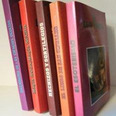 Libros de segunda mano: LOTE 5 LIBROS EL ESOTERISMO * HECHIZOS Y SORTILEGIOSS. Lote 195023720