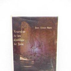 Libros de segunda mano: M69 LIBRO LEYENDAS DE LOS CASTILLOS DE JAÉN. JUAN ESLAVA GALAN. 1982.. Lote 195024315