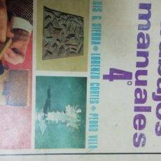 Libros de segunda mano: TRABAJOS MANUALES.4. ANAYA. Lote 195024687