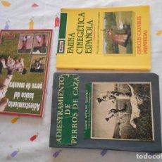 Libros de segunda mano: LIBROD DE CACERIA LOTE DE 3 ADIESTRAMIENTO DE PERROS DE CAZA DE DAVID MICHAEL ETC. Lote 195027775