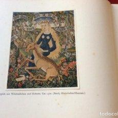 Libros de segunda mano: TAPEÇARIAS DE ESTRASBURGO DO PERÍODO GÓTICO. POR MAJOR, EMIL, 1942. ILUSTR. MUY ESCASO. ENVIO GRÁTIS. Lote 195031545