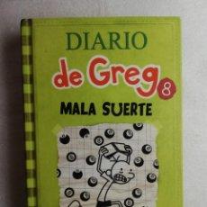 Libros de segunda mano: DIARIO DE GREG 8: MALA SUERTE. KINNEY, JEFF. ED. RBA. . Lote 195039007