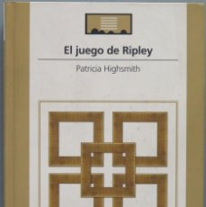 Libros de segunda mano: EL JUEGO DE RIPLEY. HIGHSMITH. Lote 195042348