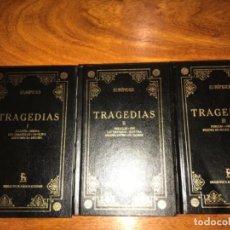 Libros de segunda mano: TRAGEDIAS. EURÍPIDES. (3 TOMOS) BIBLIOTECA BÁSICA GREDOS.. Lote 195043177