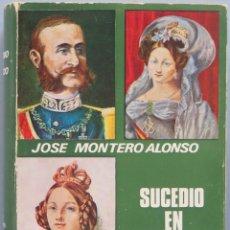 Libros de segunda mano: SUCEDIÓ EN PALACIO. JOSÉ MONTERO ALONSO . Lote 195047251