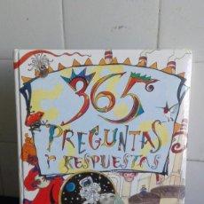 Libros de segunda mano: 365 PREGUNTAS Y RESPUESTAS. EDITA SUSAETA. Lote 195048798