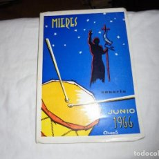 Libros de segunda mano: PORFOLIO FIESTAS DE SAN JUAN BAUTISTA MIERES DEL CAMINO 1966.PUBLICIDAD,BOTAS CHIRUCA,PEÑA SANTA. Lote 195051652