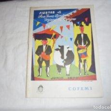 Libros de segunda mano: PORFOLIO FIESTAS DE SAN JUAN BAUTISTA MIERES DEL CAMINO 1979.. Lote 195052285