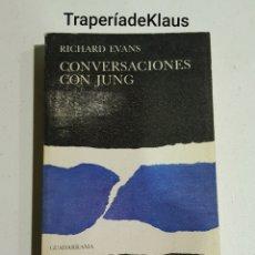 Libros de segunda mano: CONVERSACIONES CON JUNG - RICHARD EVANS - TDK92. Lote 195053511