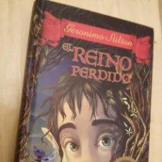 Libros de segunda mano: LIBRO EL REINO PERDIDO. CRONICAS DEL REINO DE LA FANTASIA. Lote 195058400
