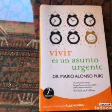 Libros de segunda mano: UN ASUNTO URGENTE. MARIO ALONSO PUIG. Lote 195060155