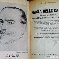 Libros de segunda mano: MAGIA DELLE CARTE. TRATTATO COMPLETO DI PRESTIGIOAZIONES CON LE CARTE (1946). Lote 195060190