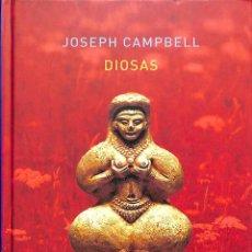 Libros de segunda mano: DIOSAS. MISTERIO DE LO DIVINO FEMENINO - JOSEPH CAMPBELL - ATALANTA - IMAGINATIO VERA ESOTERISMO. Lote 195062206
