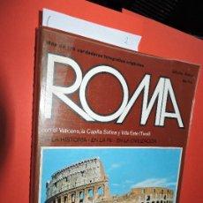 Libros de segunda mano: ROMA EN LA HISTORIA, EN LA FE, EN LA CIVILIZACIÓN. FOX, ELIO. ED. BELLOMI EDITORE. VERONA 1975. Lote 195064346