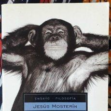 Libros de segunda mano: JESÚS MOSTERÍN . ¡VIVAN LOS ANIMALES!. Lote 195067042