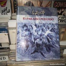 Libros de segunda mano: EL PARAISO PERDIDO,JOHN MILTON,88 ILUSTRACIONES DE GUSTAVO DORE. Lote 195074042