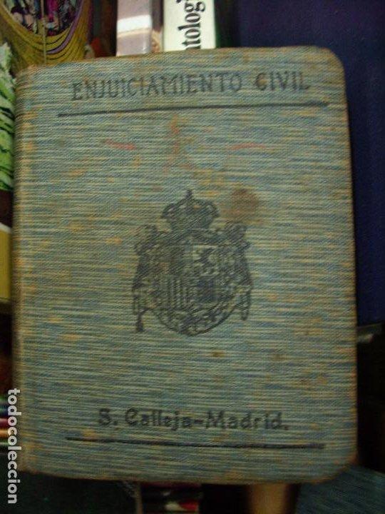 ENJUICIAMIENTO CIVIL, S. CALLEJA-MADRID. L.8136-590 (Libros de Segunda Mano - Historia - Otros)