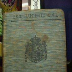 Libros de segunda mano: ENJUICIAMIENTO CIVIL, S. CALLEJA-MADRID. L.8136-590. Lote 195074406