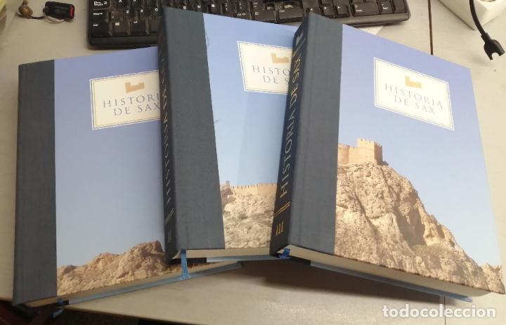 HISTORIA DE SAX / EN 3 TOMOS / COMPARSA DE MOROS - SAX 2005 (Libros de Segunda Mano - Historia - Otros)