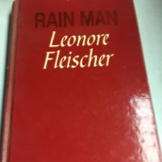 Libros de segunda mano: LIBRO - RAIN MAN - LEONORE FLEISCHER. Lote 195079448