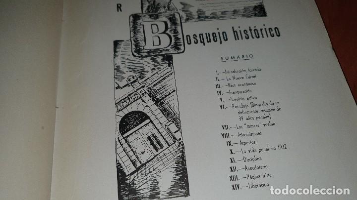 Libros de segunda mano: Memoria de la carcel modelo, valencia del cid 1942 - Foto 5 - 195080191