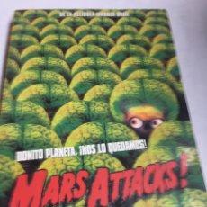 Libros de segunda mano: LIBRO - MARS ATTACKS - MARTINEZ ROCA . Lote 195080252