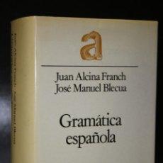Libros de segunda mano: GRAMÁTICA ESPAÑOLA.. Lote 195082220