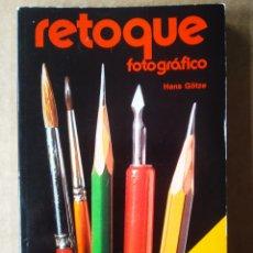 Libros de segunda mano: RETOQUE FOTOGRÁFICO, POR HANS GÖTZE (SERIE FOTO-CÓMO HACERLO/PARRAMÓN, 1977).. Lote 195085423