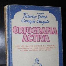 Libros de segunda mano: ORTOGRAFÍA ACTIVA.. Lote 195086533