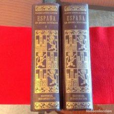 Libros de segunda mano: LOS DOS TOMOS DE ESPAÑA, UN ENIGMA HISTÓRICO, DE C. SÁNCHEZ ALBORNOZ, 1956, VER FOTOS.. Lote 195086852