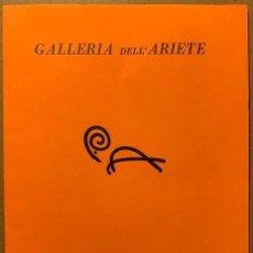 Libros de segunda mano: PISTOLETTO. GALLERIA DELL' ARIETE 1973. Lote 195093326