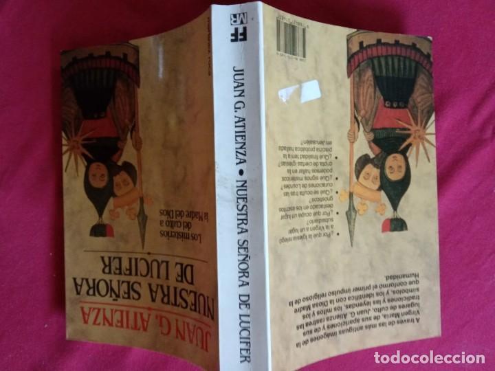 Libros de segunda mano: NUESTRA SEÑORA DE LUCIFER- JUAN G. ATIENZA. - Foto 2 - 195095780