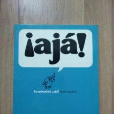 Libros de segunda mano: ¡AJÁ! INSPIRACIÓN. MARTIN GARDNER.. Lote 195096955