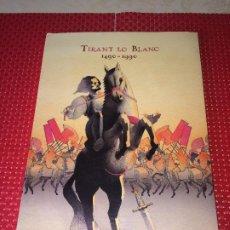 Libros de segunda mano: TIRANT LO BLANC - CAMPAÑA ESCOLAR 1988 - VALENCIA - CARPETA DE TREBALL - 102 PÁGINAS. Lote 195099702