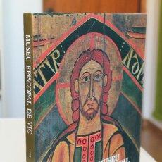 Libros de segunda mano: MIQUEL S.GROS - MUSEU EPISCOPAL DE VIC. PINTURA I ESCULTURA ROMÀNICA - AUSA. Lote 195104812