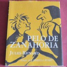 Libros de segunda mano: PELO DE ZANAHORIA - JULES RENARD - DIBUJOS DE GABRIELA RUBIO - MEDIA VACA. Lote 195108588